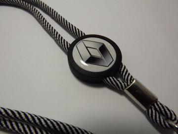 Fita Porta Chaves (lanyard) de Pescoço Ajustável para Renault