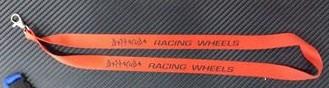 """Fita Porta Chaves para """"Barracuda - Racing Wheels"""""""