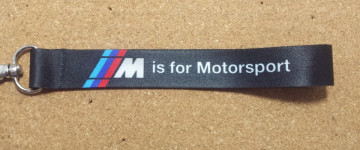 Fita Porta Chaves para BMW ///M is for Motorsport