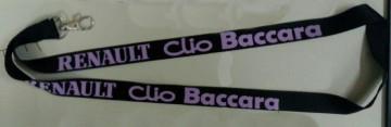 Fita Porta Chaves para Renault Clio Baccara