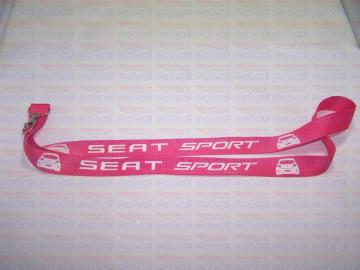 Fita Porta Chaves - Seat Sport Ibiza 6j Traseira