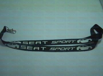 Fita Porta Chaves - Seat Sport Toledo