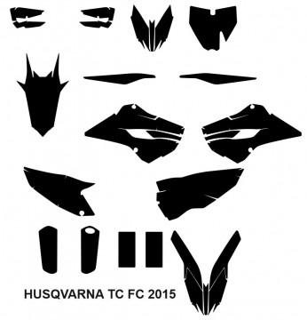 Husqvarna TC FC TE FE 125 250 300 350 450 501 - 2014 2015
