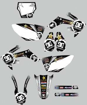 Kit Autocolantes Para Honda crf 250 04-05