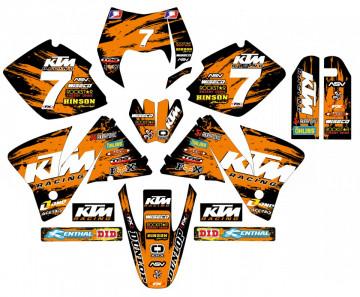 Kit Autocolantes Para KTM EXC / XC 98-01