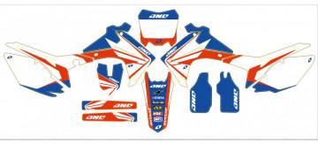 Kit Autocolantes Para Moto - HONDA CRF (250 14-15),  (450 13-15)  One