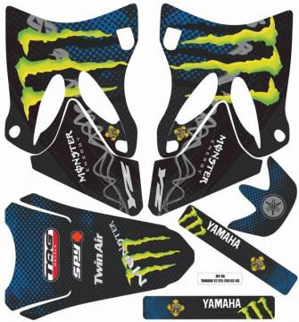 Kit Autocolantes Para  Yamaha YZ 125 / 250 02-07