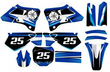 Kit Autocolantes Para Yamaha YZ 125 / 250 96-01
