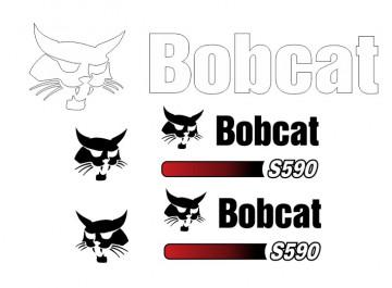 Kit de Autocolantes para BobCat S590