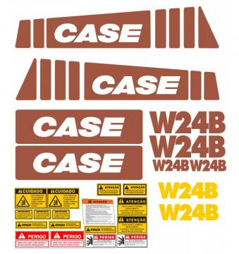 Kit de Autocolantes para CASE W24B