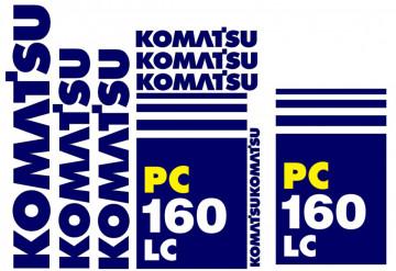 Kit de Autocolantes para KOMATSU PC160LC