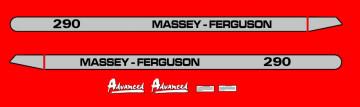 Kit de Autocolantes para Massey Ferguson 290