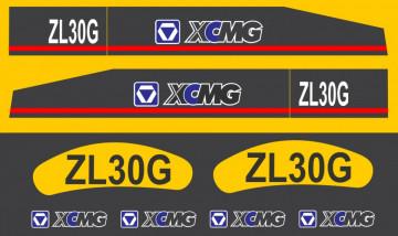 Kit de Autocolantes para XCMG ZL30G