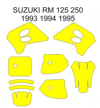 Molde - Suzuki RM 125 250 1993 1994 1995