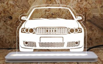 Moldura / Candeeiro com luz de presença - Audi A4 B6