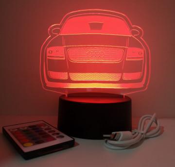 Moldura / Candeeiro com luz de presença - Audi TT 8N