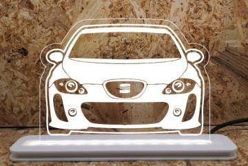 Moldura / Candeeiro com luz de presença - Seat Leon 1P