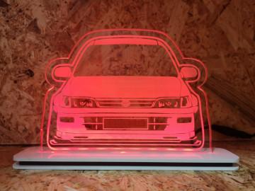 Moldura / Candeeiro com luz de presença - Toyota Corolla
