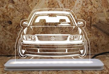 Moldura / Candeeiro com luz de presença - Volkswagen Passat 3B