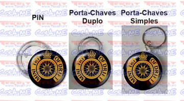 Pin / Porta Chaves - Mind Try of Drift