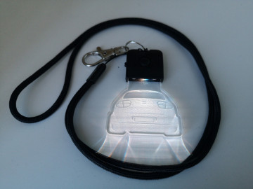 Porta Chaves com luz Multicor com Seat Leon 1M