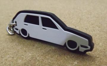 Porta Chaves com silhueta de Golf II / MKII - 5 Portas