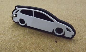 Porta Chaves com silhueta de Honda Civic EP
