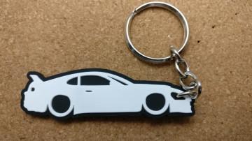 Porta Chaves com silhueta de Toyota Supra