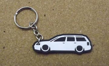 Porta Chaves com silhueta de Volkswagen Passat 3B