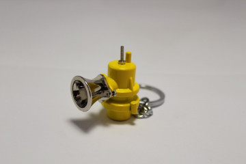 Porta Chaves - Dump Valve (Blow off valve) - Amarelo