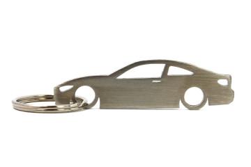 Porta Chaves em inox com silhueta com BMW F34 Serie 4