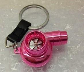 Porta Chaves - Turbo (funcional) - Rosa Cromado