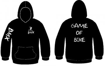 Sweatshirt com capuz - BMX - Game of bike