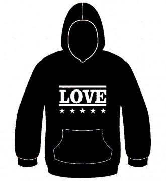 Sweatshirt com capuz - Love