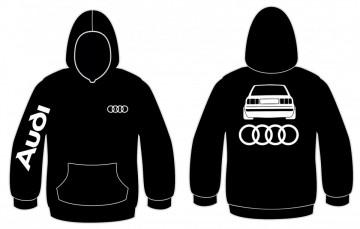 Sweatshirt com capuz para Audi 80