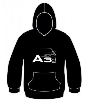 Sweatshirt com capuz para Audi A3 8L