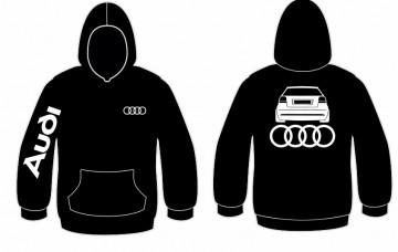 Sweatshirt com capuz para Audi A3 8P traseira