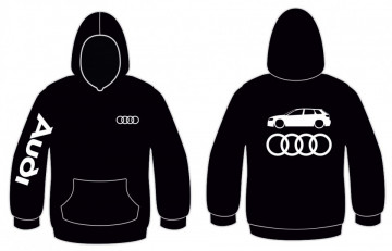 Sweatshirt com capuz para Audi A3 8pa