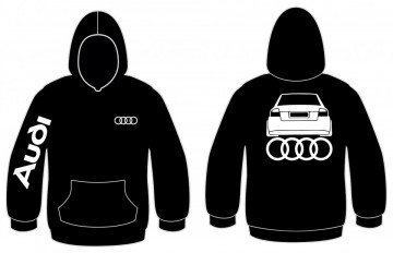 Sweatshirt com capuz para Audi A4 B6