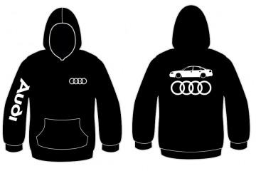 Sweatshirt com capuz para Audi A6 C5