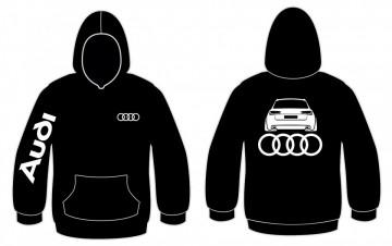 Sweatshirt com capuz para Audi A6 C7