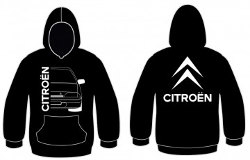 Sweatshirt com capuz para Citroen AX