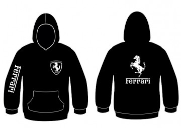 Sweatshirt com capuz para Ferrari