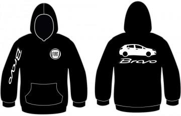 Sweatshirt com capuz para Fiat Bravo