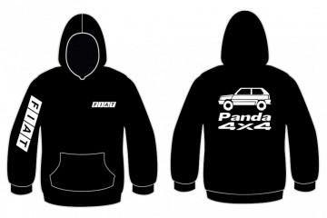 Sweatshirt com capuz para Fiat Panda 4x4