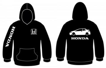 Sweatshirt com capuz para Honda Civic FN2
