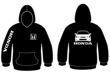 Sweatshirt com capuz para Honda Civic