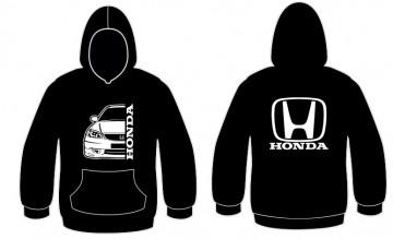 Sweatshirt com capuz para Honda EK