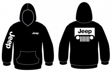 Sweatshirt com capuz para Jeep