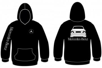 Sweatshirt com capuz para Mercedes-Benz Classe E w124